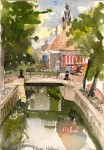 Postcard Edam Holland