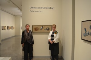 Deb Mostert and Tracy Cooper-Lavery, Director of Rockhampton Art Gallery